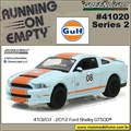 2012 - Ford Shelby GT500 GULF - Greenlight - 1/64