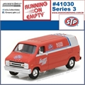 1976 - Dodge B-100 Van STP - Greenlight - 1/64