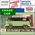 1979 - VW Kombi Texaco CHASE CAR - Greenlight - 1/64