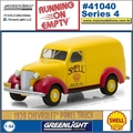 1939 - Chevrolet Panel Truck SHELL - Greenlight - 1/64