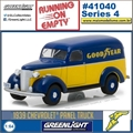 1939 - Chevrolet Panel Truck GOODYEAR - Greenlight - 1/64