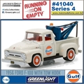 1956 - Ford F-100 with Tow Hook GULF - Greenlight - 1/64
