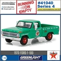 1970 - Ford F-100 TEXACO - Greenlight - 1/64