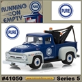 1956 - Ford F-100 with Tow Hook PURE - Greenlight - 1/64