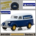 1939 - Chevrolet Panel Truck MICHELIN - Greenlight - 1/64