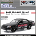 HP 18 - Ford Crown Victoria EAST ST. LOUIS Police - Greenlight - 1/64