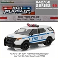 HP 19 - 2015 Ford Interceptor Utility NEW YORK Police - Greenlight - 1/64