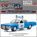 HP 20 - 1974 Dodge Monaco CHICAGO Police - Greenlight - 1/64