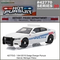 HP 20 - 2015 Dodge Charge DETROIT Police - Greenlight - 1/64
