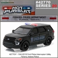 HP 20 - 2016 Ford Interceptor Utility FISHERS Police - Greenlight - 1/64