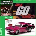 GL HOLLYWOOD  7 - 1971 Plymouth Hemi Cuda - Greenlight - 1/64