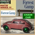 GL HOLLYWOOD 12 - Volkswagen Fusca CHASE CAR - Greenlight - 1/64