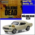 GL HOLLYWOOD 15 - 1967 Ford Mustang Coupe - Greenlight - 1/64