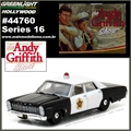 GL HOLLYWOOD 16 - 1967 Ford Custom Police - Greenlight - 1/64