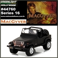 GL HOLLYWOOD 16 - 1987 Jeep Wrangler YJ - Greenlight - 1/64