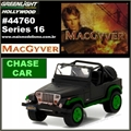 GL HOLLYWOOD 16 - 1987 Jeep Wrangler YJ CHASE - Greenlight - 1/64