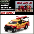 GL HOLLYWOOD 16 - 2015 Ford F150 Emerald Bay Beach Patrol - Greenlight - 1/64