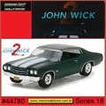 GL HOLLYWOOD 18 - 1970 Chevrolet Chevelle SS 396 - Greenlight - 1/64
