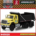 2017 - INTERNATIONAL WorkStar Dump Truck New York - Greenlight - 1/64