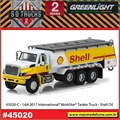 2017 - INTERNATIONAL WorkStar Tanque SHELL - Greenlight - 1/64
