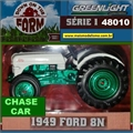 1949 - Trator Ford 8N CHASE CAR - Greenlight - 1/64