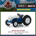 1949 - Trator Ford 8N Azul - Greenlight - 1/64