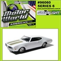 MW  6 - 1969 OLDSMOBILE 442 - Greenlight - 1/64