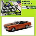 MW  6 - 1969 Chevrolet CAMARO - Greenlight - 1/64