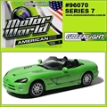 MW  7 - Dodge VIPER Verde - Greenlight - 1/64