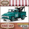 1956 - Ford F-100 with Drop-In Tow Hook - Greenlight - 1/64