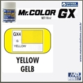 Tinta Gunze  Mr Color GX 4 AMARELO CHIARA Extra-Brilho - 18ml