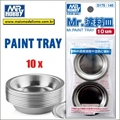 Potes Mr PAINT TRAY (10 unidades) D175 - Mr Hobby - Gunze