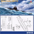 Submarino USS SAN FRANCISCO (SSN-711) - Hobby Boss - 1/700