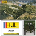 US 1/4 Ton Truck and Trailer - JEEP - Heller - 1/72