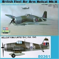 British Fleet Air Arm HELLCAT Mk.II - Hobby Boss - 1/48