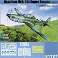 Brazillian EMB-314 SUPER TUCANO - Hobby Boss - 1/48