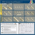 WWII German Aircraft WEAPONS - I - Italeri - 1/72