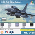 F-16C/D Night Falcon - Italeri - 1/72