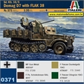 Sd. Kfz.  10/5 Demag D7 with FLAK 38 - Italeri - 1/35