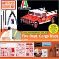 Fire Dept. Cargo Truck - Model Kit Italeri - 1/35