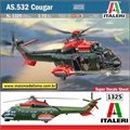Helicóptero AS.532 Cougar - Italeri - 1/72