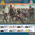 Napoleonic Wars - BRITISH 95th rgt. GREEN JACKETS - Italeri - 1/72