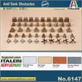 Anti Tank Obstacles WWII - Italeri - 1/72