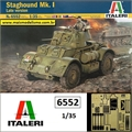 STAGHOUND Mk. I Late Version - Italeri - 1/35