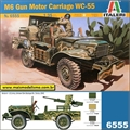 M6 Gun Motor Carriage WC-55 - Italeri - 1/35