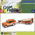 1979 - International Scout II with Boat and Trailer - Johnny Lightning - 1/64