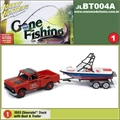 1965 - Chevrolet Truck with Boat and Trailer - Johnny Lightning - 1/64