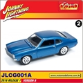 1972 - Ford Maverick Azul - Johnny Lightning - 1/64