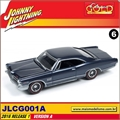 1965 - Pontiac Catalina 2+2 Azul - Johnny Lightning - 1/64