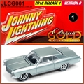 1965 - Buick Riviera Cinza - Johnny Lightning - 1/64